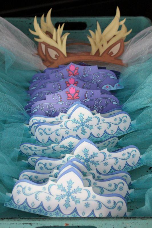 handicrafts for nina frozen party 3