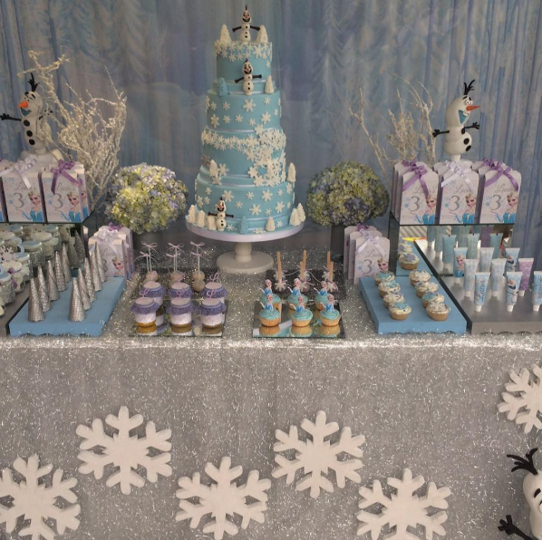 frozen birthday cake 3