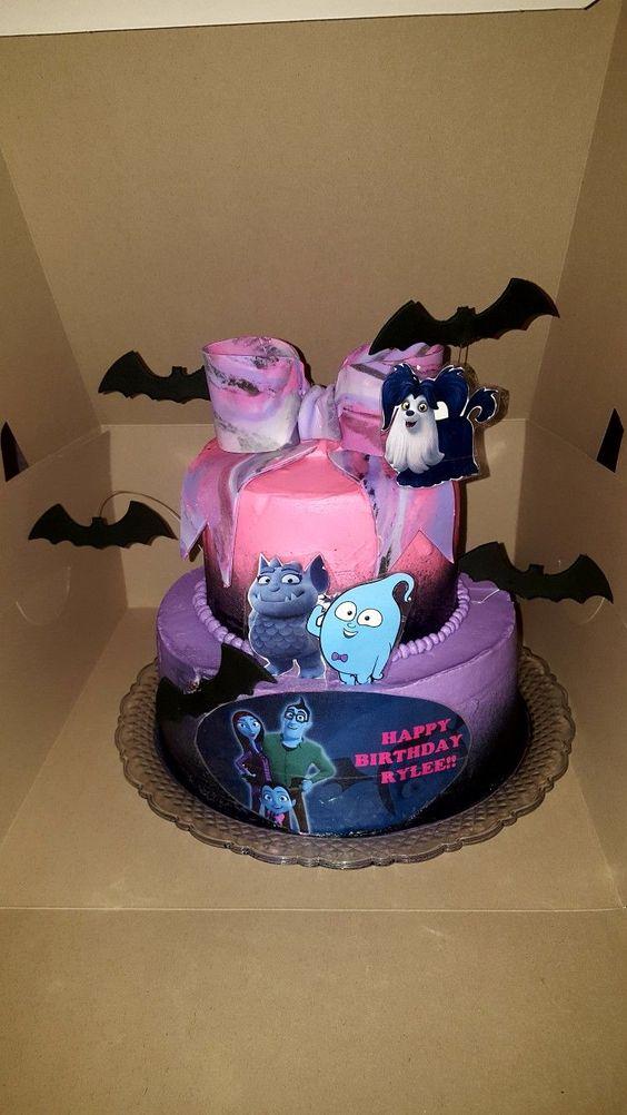 Vampirina Cake Designs