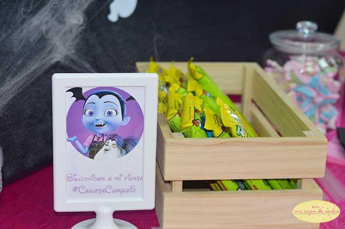 Sweets and treats for Vampirina's Birthday