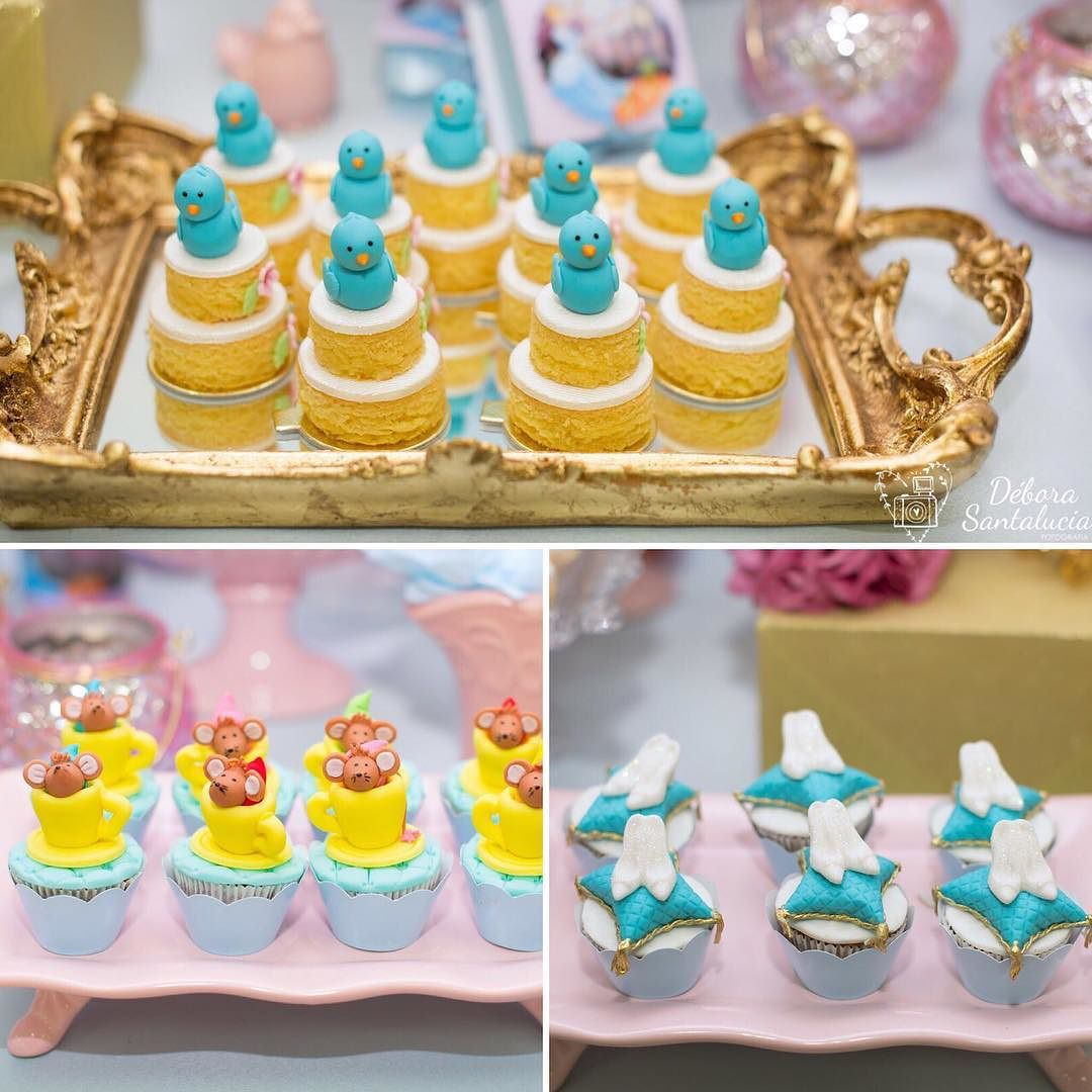 desserts for a Cinderella candy table