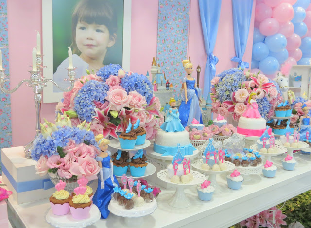 Cinderella Theme Dessert Table (3)