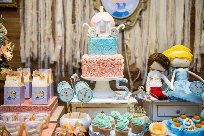 Cinderella Theme Dessert Table (2)