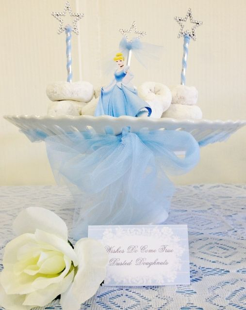 sandwiches and desserts for the Cinderella theme candy table (6)
