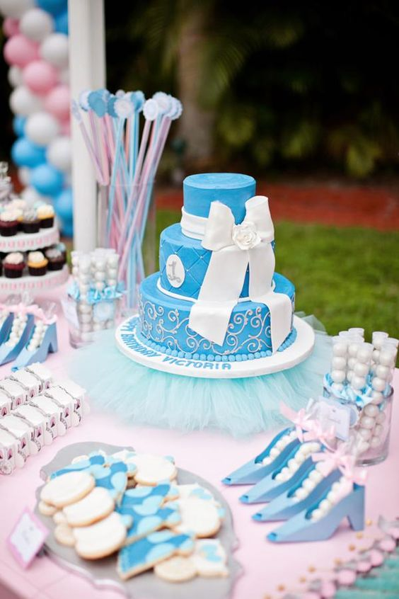 sandwiches and desserts for the Cinderella theme candy table (5)