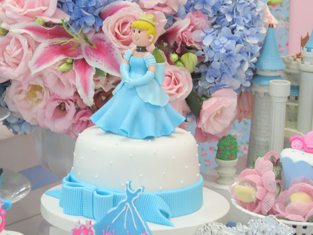 birthday cake for Cinderella party