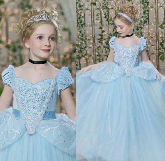 Cinderella dress for girl (2)