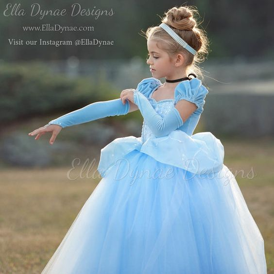 Cinderella dress for girl (3)