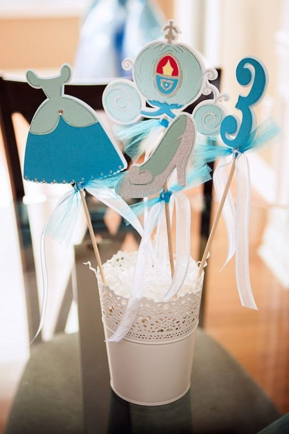 simple centerpieces Cinderella (3)