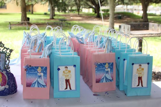 candy bars for Cinderella parties