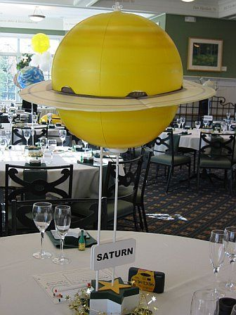 Astronauts table centres