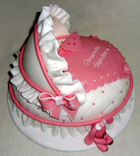 Baby shower cakes for girls