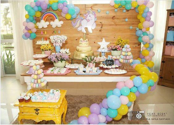 decoration main table party unicornio bebe (2)