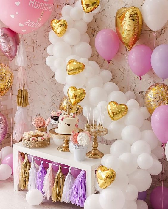 dessert table for unicorn party (7)