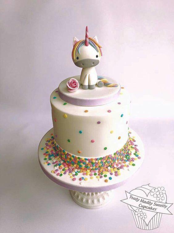 unicorn fondant cake for nina (3)