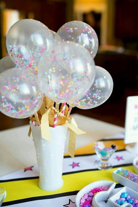 centerpiece with unicorn party balloons (2)
