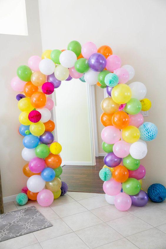 decoracion de la entrada fiesta muñecas lol (3)