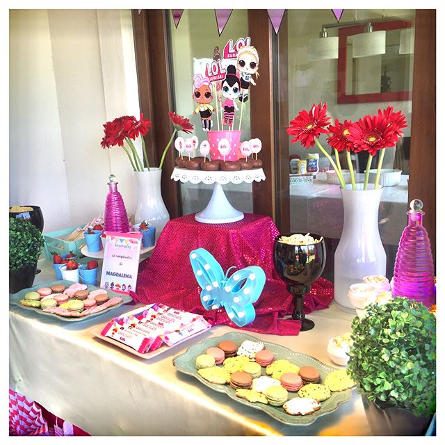 general decoration for a party of girl dolls lol (2)