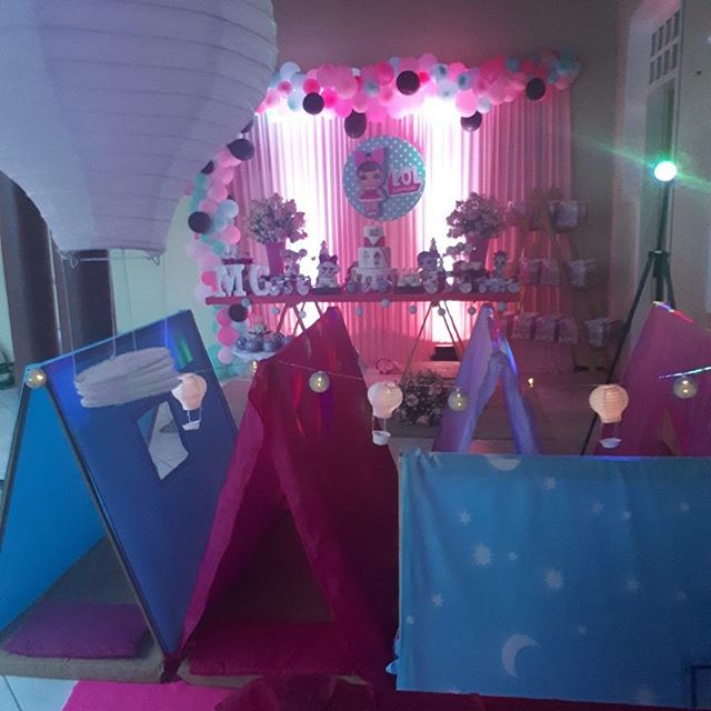 general decoration for a party of girl dolls lol (3)