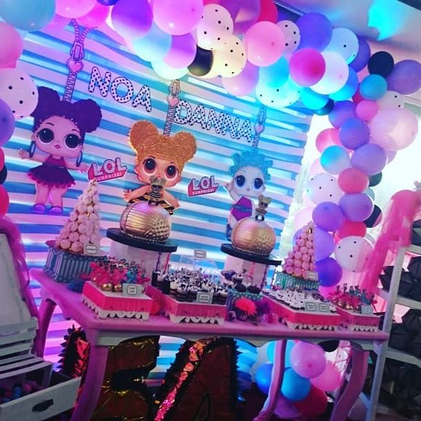 ideas to accommodate nina's party dessert table