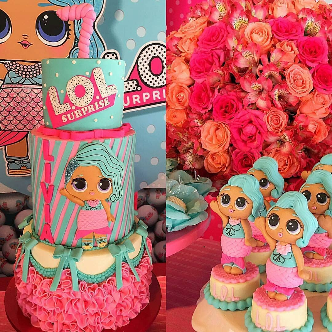 designs of cakes for nina theme dolls it (4)