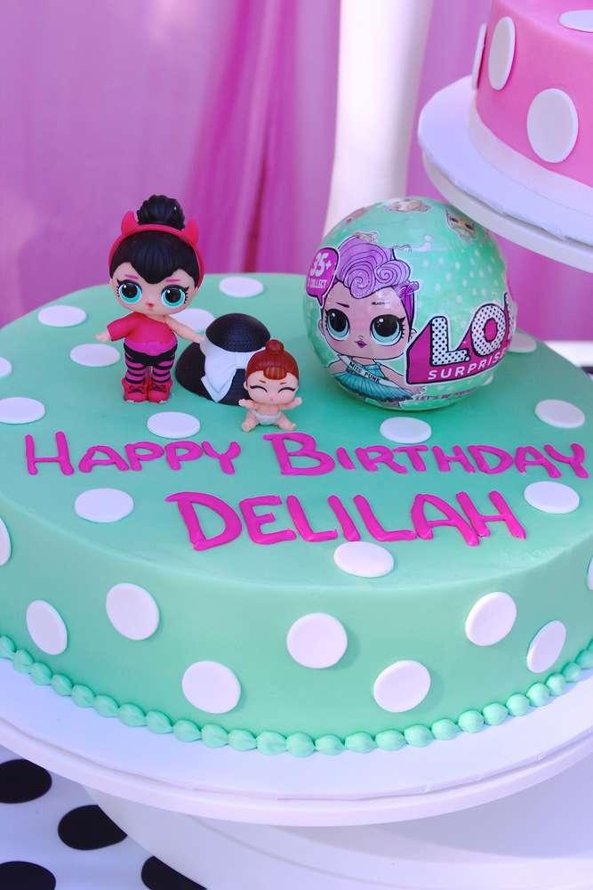 birthday cake a floor theme doll lol (8)