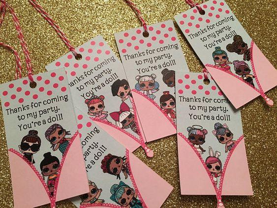 simple invitations to party nina theme dolls lol (2)