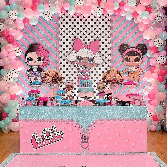 the best ideas for birthday party nina theme dolls lol (19)