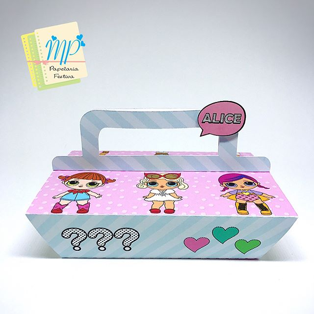 candy makers in cardboard boxes for children's party theme dolls lol (4)