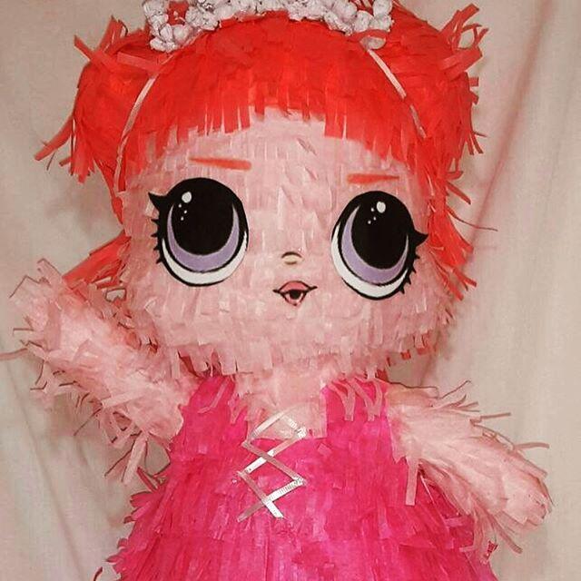 pinata of doll lol fiesta nina
