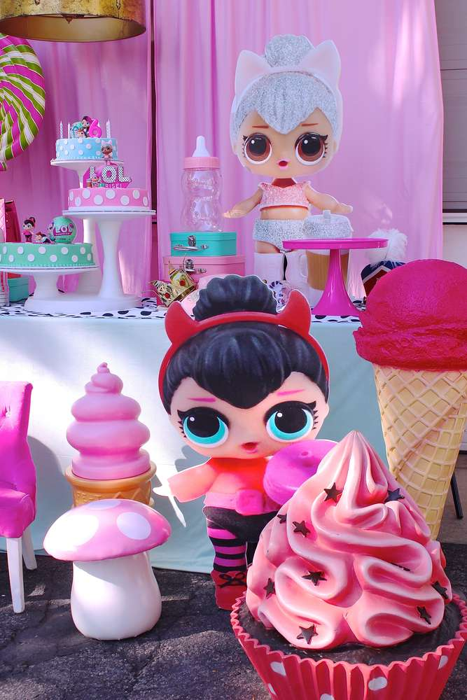 the best ideas for birthday party nina theme dolls lol