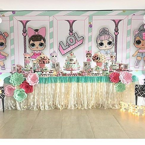 the best ideas for birthday party nina theme dolls lol (24)