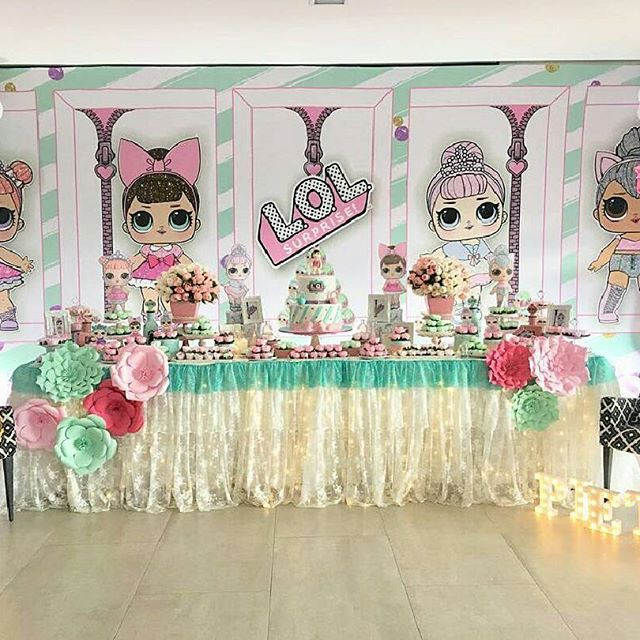 the best ideas for birthday party nina theme dolls lol (18)