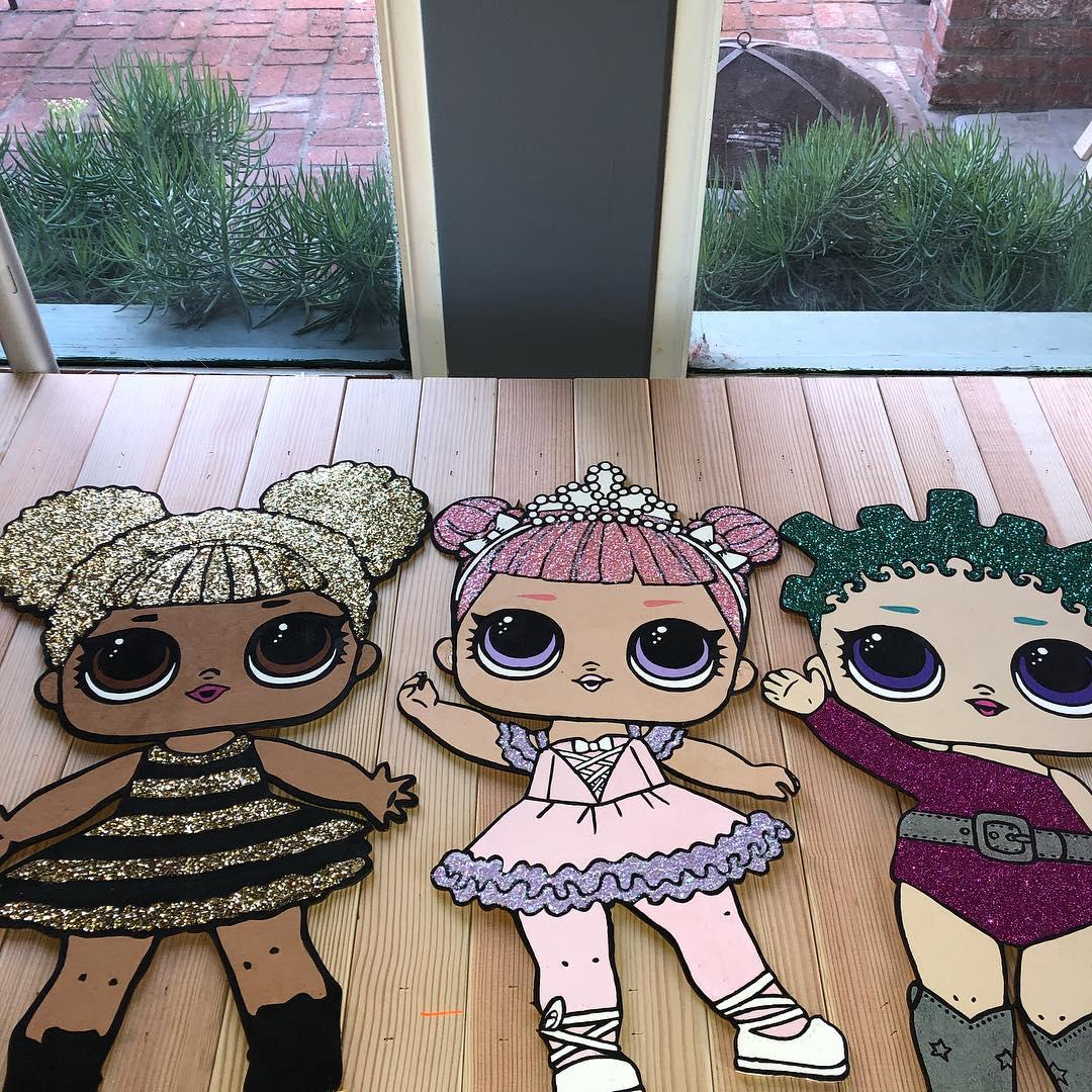 the best ideas for birthday party nina theme dolls lol (9)