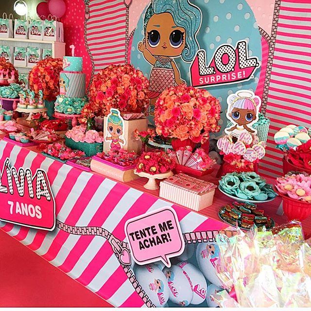 the best ideas for birthday party nina theme dolls lol (12)
