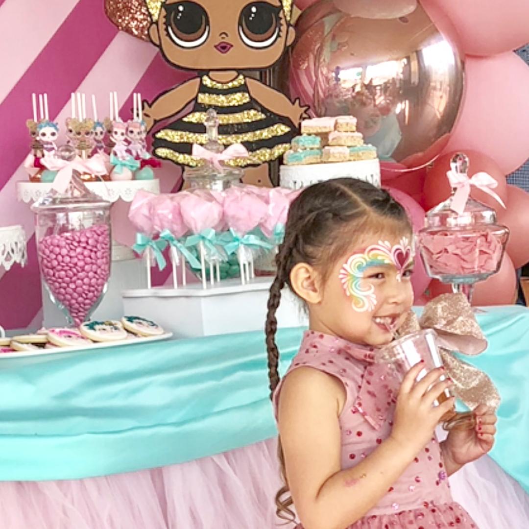 the best ideas for birthday party nina theme dolls lol (11)
