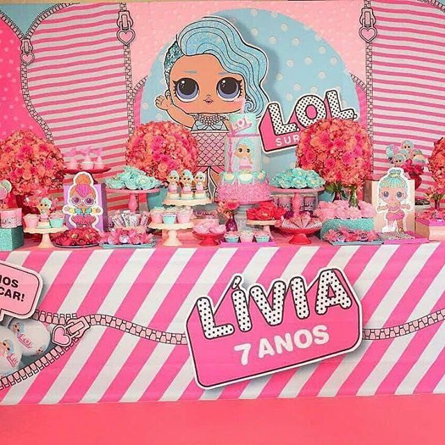 the best ideas for birthday party nina theme dolls lol (13)