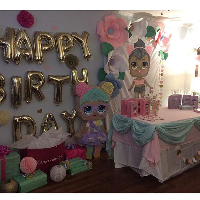the best ideas for birthday party nina theme dolls lol (5)