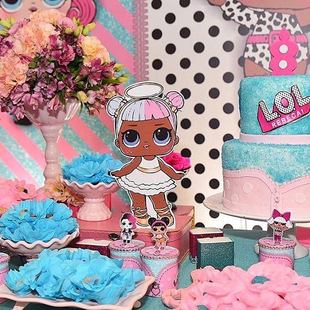 the best ideas for birthday party nina theme dolls lol (10)