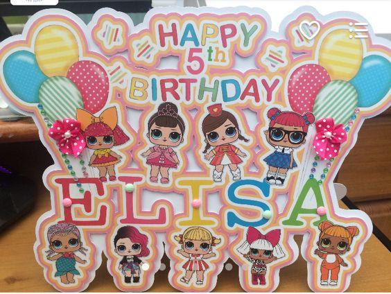 the best ideas for birthday party nina theme dolls lol (1)