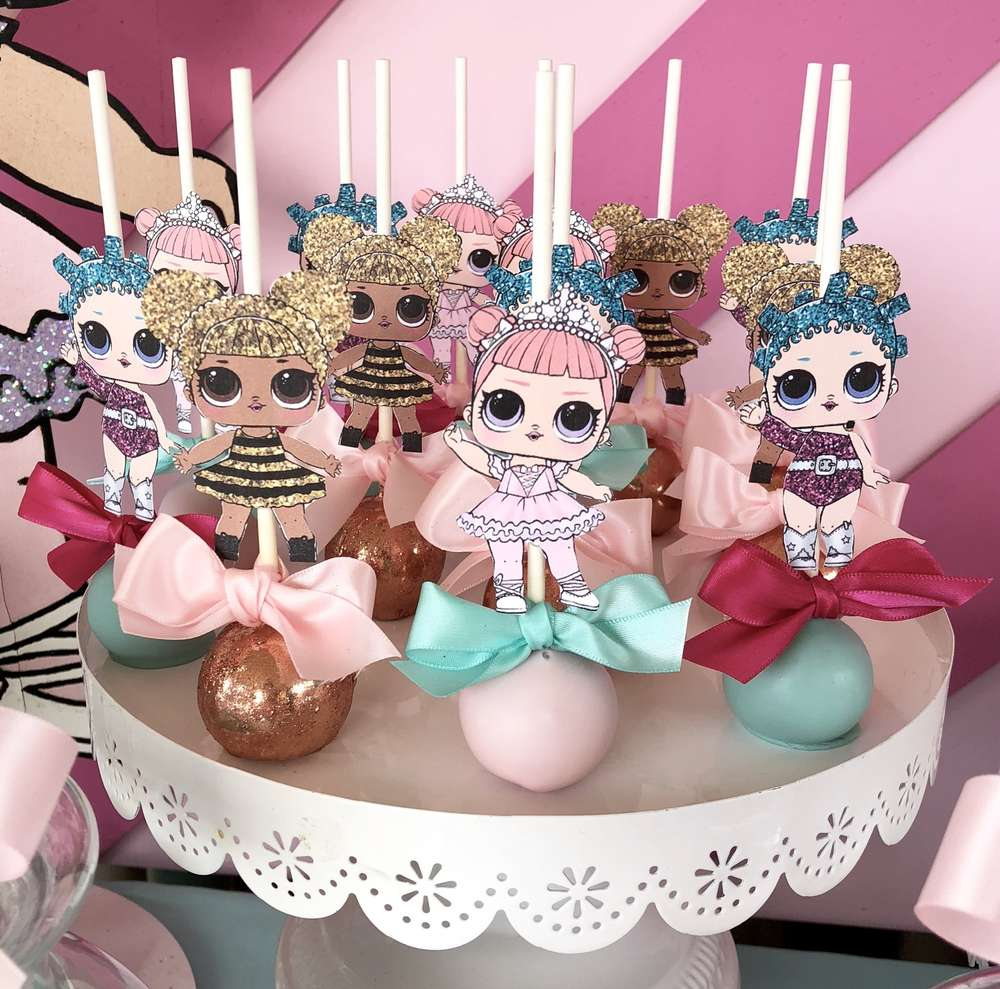 how to decorate a birthday party for nina dolecas lol (2)