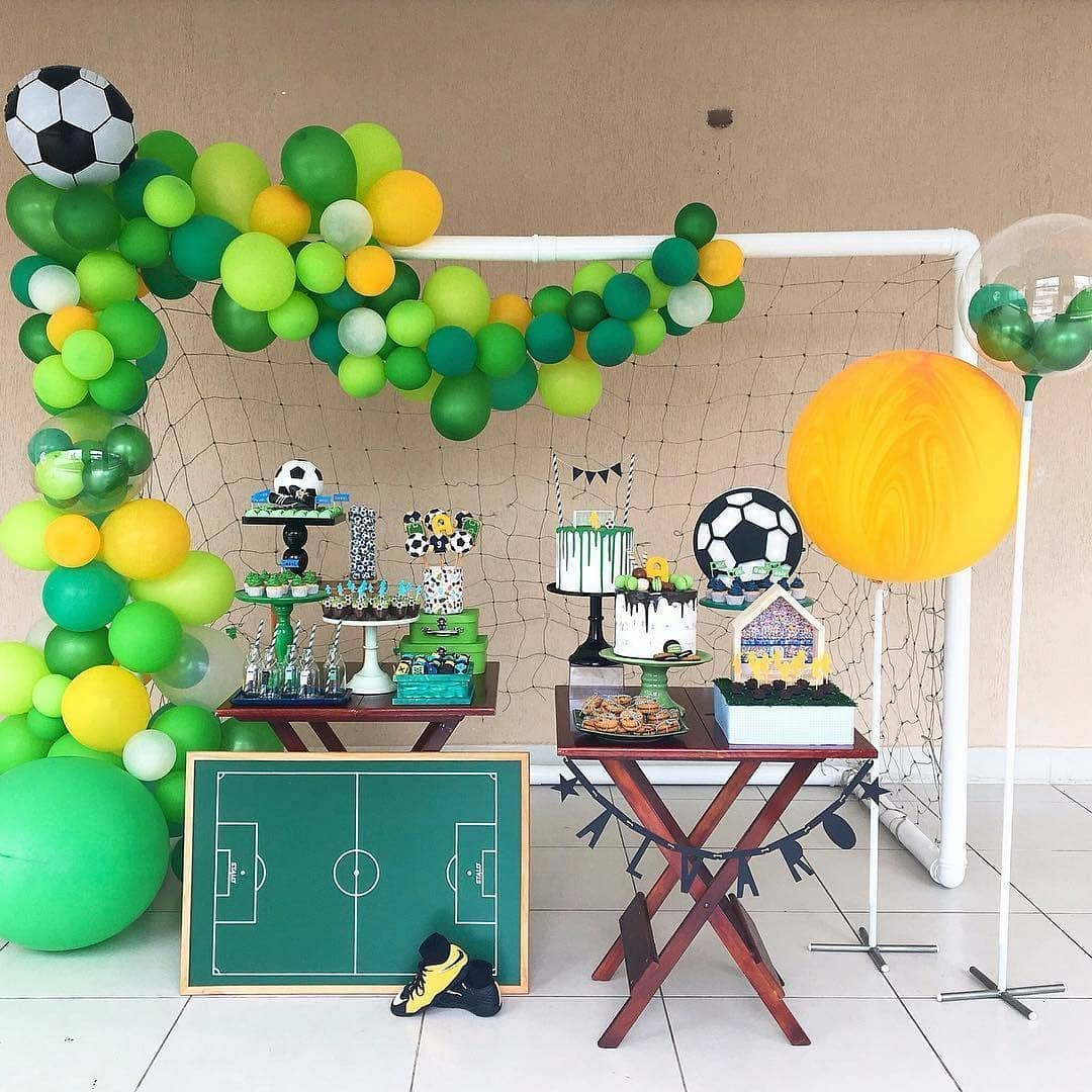 children's party with football theme 6