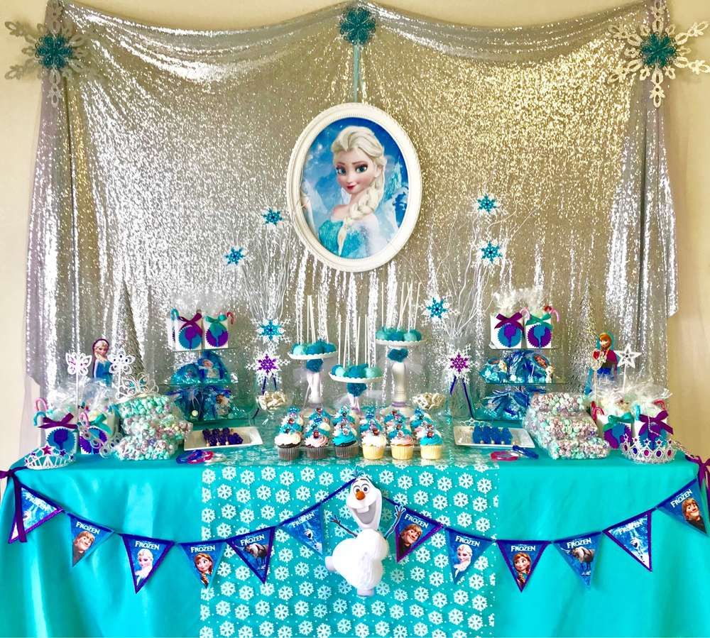 frozen party for nina 2