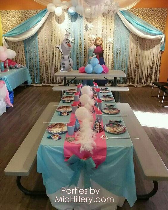 frozen party for nina