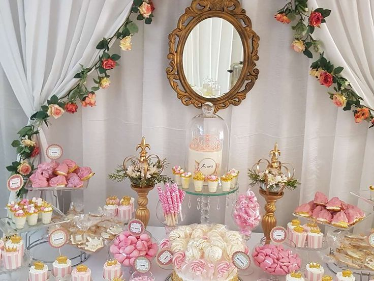Ideas to decorate Baby Shower as a girl