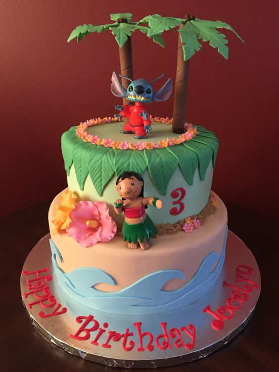 Lilo & stitch children's party
