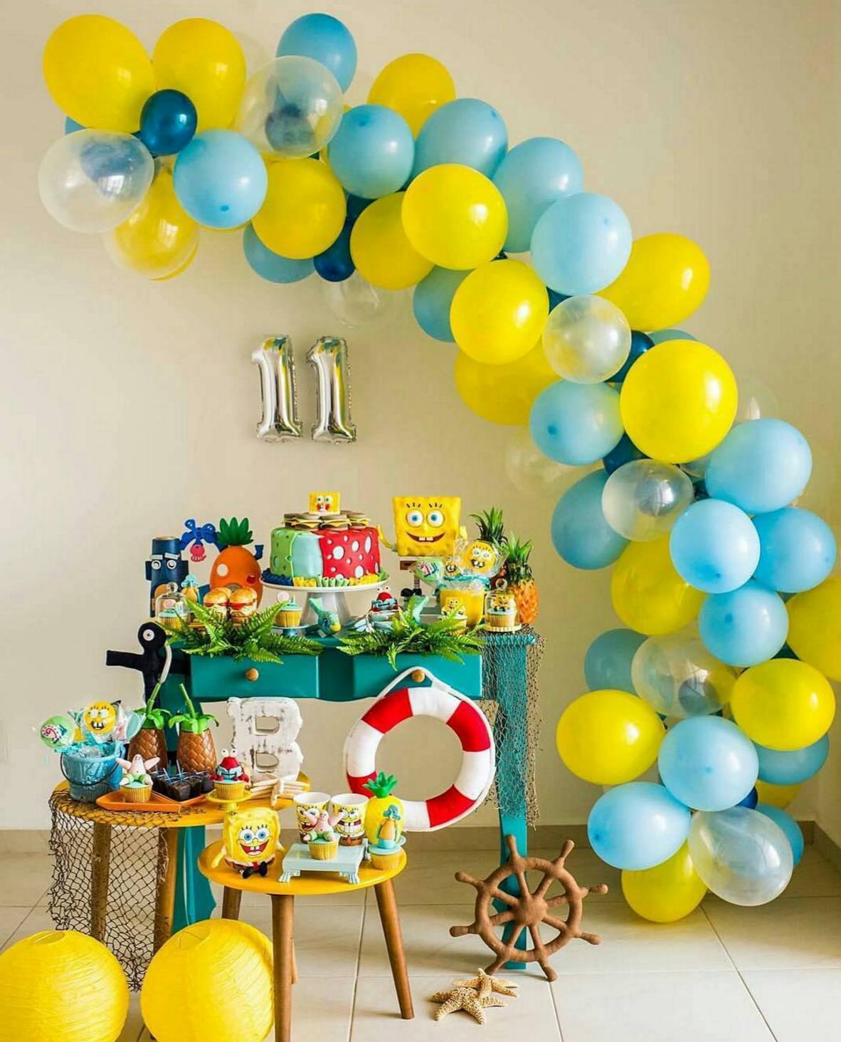 Sponge Bob's Birthday Party Decoration