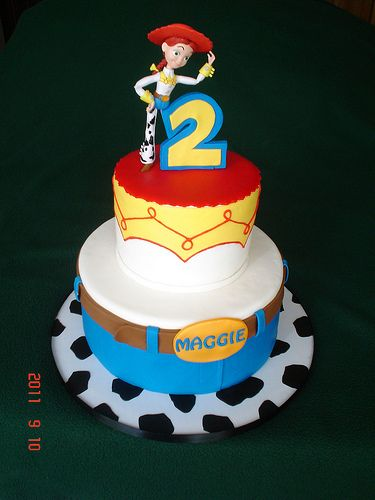 jessie de toy story party cake