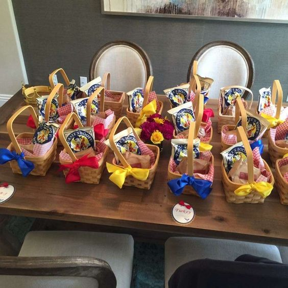 Snow White Party Sweets