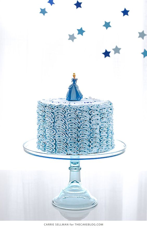 Simple Cinderella Party Cakes